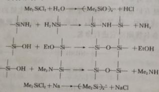 有机硅高分子的聚合反应