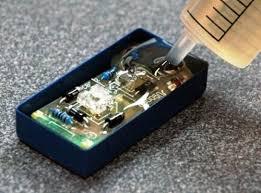 808AB-T透明环氧树脂灌封胶 LED灯饰模组显示屏灌封胶电子电器 光电元件灌封料