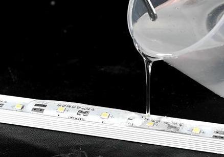 808AB-T-3H抗黄变环氧灌封胶 电子灌封料密封保护 LED灯条模组元器件封装 epoxy