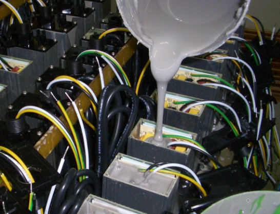 808AB-FX电子灌封胶 阻流性触变性环氧灌封胶 流平性好防渗胶 缝隙不漏胶 AB胶epoxy